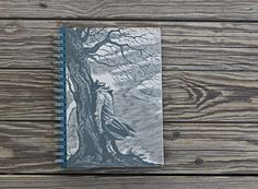 Wuthering Heights - Sketchbook, Blank Book, Recycled Notebook, Book Journal, Handmade Journal