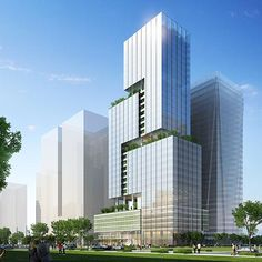 hotel architecture In accommodating a strict floor-area ratio (FAR), this new building tapers as it rises, distinguishing itself from neighboring towers and. Office Building Architecture, Hotel Architecture, Concept Architecture, Architecture Design, Chinese Architecture, Classical Architecture, Futuristic Architecture, Residential Architecture, Tower Building