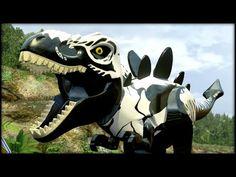 LEGO Jurassic World - VENOM T-REX! - YouTube