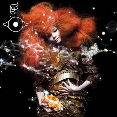 """Björk is wearing specially customised dress by Iris van Herpen for her new album cover. This will be her eighth full-length studio album ''Biophilia"""" that is coming out in October Moma, Itunes Music, Mm Paris, Los Grammy, New York, Pop Albums, Music Albums, Gifs, Pochette Album"""