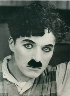 Is it just me or does Charlie Chaplin look like a woman