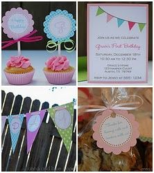 a lot of great free printables for parties!