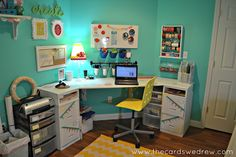 pretty craft room!