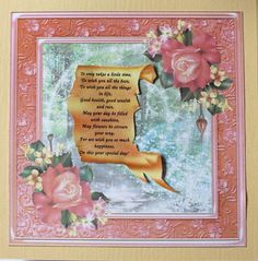 Gallery - I printed the Magic Flute left insert and cut it out. I attached it inside the beige card I had just made. The Magic Flute, May Flowers, Hobbies And Crafts, Card Making, Prints, Cards, Painting, Beige, Gallery