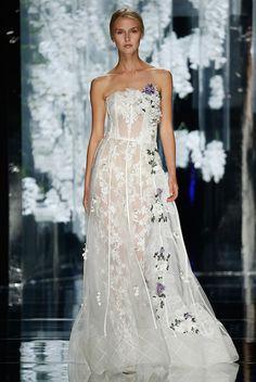 sheer lace & floral bohemian wedding dress   yolan cris