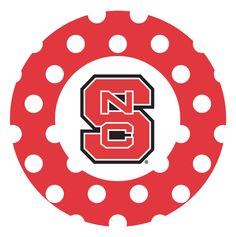 North Carolina State University Dots Collegiate Coaster
