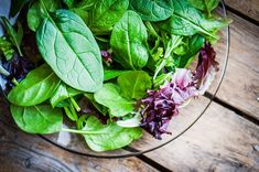 This delicious green is perfect in salads and smoothies. Learn how to harvest baby spinach with our tutorial! Organic Restaurant, The Thing Is, Salad Bar, Baby Spinach, Lowes, Harvest, Smoothies, Salads, Fresh