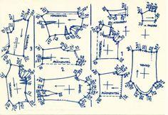 Lutterloh 1938 Book Of Cards - Models Diagram Card 32