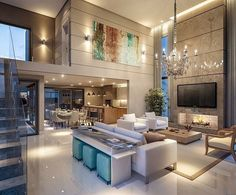 First-Rate Contemporary Interior Museum Ideas - 8 Keen Tricks: Contemporary Kitchen Design contemporary wood beds. Contemporary Kitchen Design, Modern House Design, Contemporary Interior, Modern Interior Design, Rustic Contemporary, Interior Ideas, Contemporary Landscape, Contemporary Architecture, Contemporary Stairs
