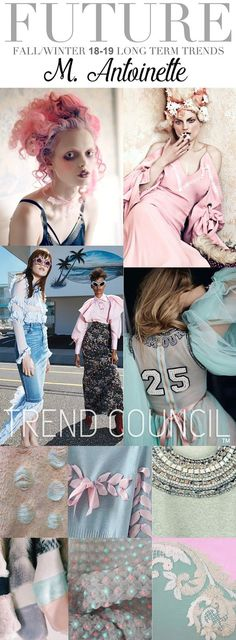 TRENDS | TREND COUNCIL - M. ANTOINETTE . FW 2018-19