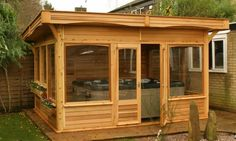 Monopitch Roof Gazebo 4m x 3.5m Features: