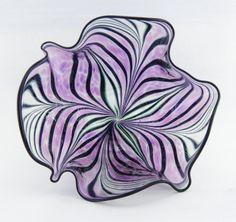 Amethyst Art Glass Bowl