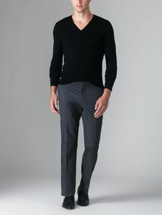 BLK DNM Creased Twill Pants