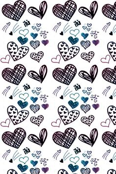 She doodled hearts all through class...