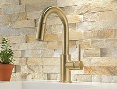 backsplashes (glass, tile, and stone) | stacked stone backsplash