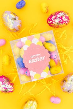 Printable Easter Candy Box Labels