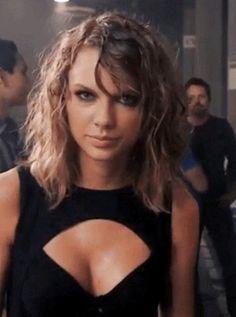 taylor swift 1989 bad blood music video curly short hair tan black fierce