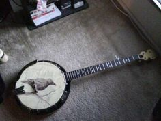 All the lovely banjo art I see is on five-strings.