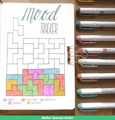 Tetris Mood Tracker
