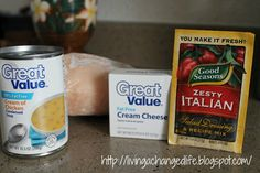 Weight Watchers Crockpot Italian Chicken (great recipe and great weight loss blog!)