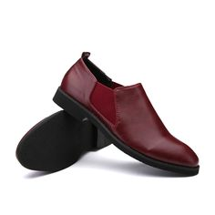 US $31 Spring/Autumn/Winter Men's Chelsea Boots,British Style Fashion Ankle Boots,Black/Red/Blue Men Casual Shoe Luxury Brand