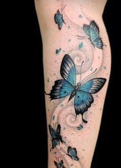 Love the dot work on this as well as the colour of the butterfly's