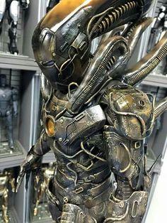 """Iron man """"Alien""""  armor"""
