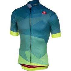 Buy Castelli Flusso Short Sleeve Jersey from Price Match, Home delivery + Click & Collect from stores nationwide. Rapha Cycling, Cycling Vest, Cycling Jerseys, Cycling Outfit, Races Outfit, Bike Shirts, Bike Wear, Sports Shirts, Sport Outfits