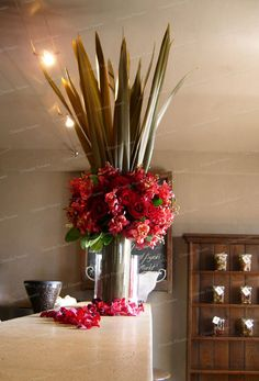 Roses and Orchids - Corporate Lunch - Mudbrick