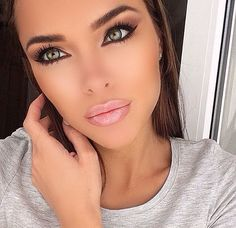 Image about beautiful in Make-up Goals by Hana Khaled Flawless Makeup, Gorgeous Makeup, Pretty Makeup, Love Makeup, Makeup Style, Makeup Goals, Makeup Tips, Hair Makeup, Make Up Looks