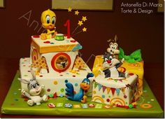 sylvester and tweety cakes - Google Search