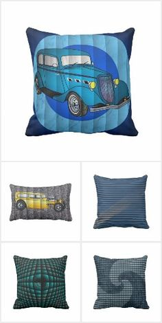 I Wish   Custom Hot Rod Fine Art Photographic Print   Support small     Pillow Fun   Pillows with faux fabrics and sometimes Hot Rod cars  by   WrebBlower
