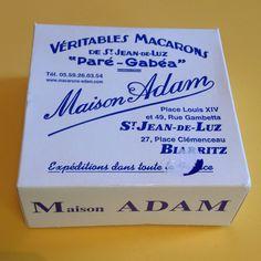 Macarons - Maison ADAM -St Jean de luz / Biarritz