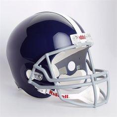 Riddell Baltimore Colts Royal Blue 1955 Throwback Replica Full-Size Helmet