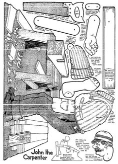 John the Carpenter http://www.pinterest.com/shushonet/printable-and-paper-art/