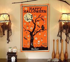 Pottery Barn Kids Halloween Countdown Calendar - great DIY if you're ambitious!