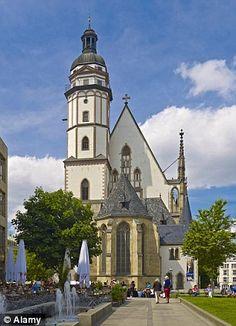 St Thomas's Church in Leipzig...