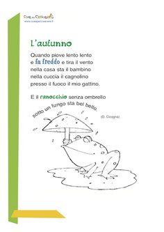 58 fantastiche immagini su poesie e filastrocche nursery rhymes montessori e learn italian - Gemelli diversi mary testo ...