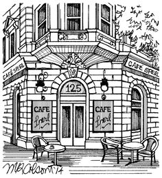 PRINT OF THE WEEK: SPERL CAFE
