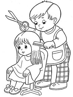 Image may contain: drawing Colouring Pics, Coloring Book Pages, Coloring Sheets For Kids, Adult Coloring, Art Drawings For Kids, Art For Kids, Drawing Sheet, Human Drawing, Digital Stamps