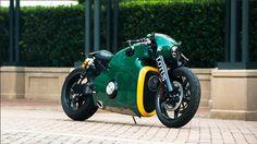 lotus C-01 motorcycle: a pristine example at monterey car week