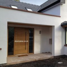 Contemporary doors  contemporary front doors  contemporary oak doors   contemporary iroko doors  UK deliverycontemporarydoor hb43 2   Front door   Pinterest   Entrance doors  . Contemporary Oak External Doors Uk. Home Design Ideas
