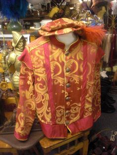 Men's Renaissance Doublet and Cap   XL by MossyRoseCB on Etsy, $125.00
