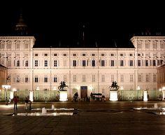 Palácio Real de Turim, Itália.