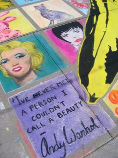 I never did either Andy Warhol. ♥ ♥ ♥