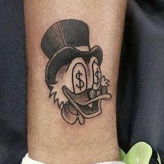 Money Sign Tattoo - Best Money Tattoos For Men: Cool Money Tattoo Designs and Id. - Money Sign Tattoo – Best Money Tattoos For Men: Cool Money Tattoo Designs and Ideas For Guys – B - Dope Tattoos, Tattoos 3d, Arm Sleeve Tattoos, Cartoon Tattoos, Forearm Tattoo Men, Body Art Tattoos, Small Tattoos, Tattoo On Leg Men, Tattoo For Man