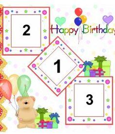 Tarjeta de cumpleaños con marco de fotos rojo, globos y pasteles para - Fotoefectos Birthday Frames, Happy Birthday, Photoshop, Memes, Natural, Happy Birthday Photos, Happy Birthday Quotes, Birthday Photos, Greeting Card