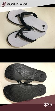 822eee731 Adidas Cloudfoam Women s Flip Flop Sandals Brand new w o Tags Whole sizes  only  - Thong toe - Logo accent - Grip sole Materials Manmade upper and  sole ...