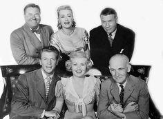"Jack Oakie, Dan Dailey, June Havoc, Betty Grable, Richard Arlen, James Gleason  ""When My Baby Smiles at Me""   (1948)"