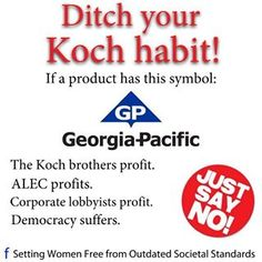 cut the funding to the Koch brothers to save this country!!!